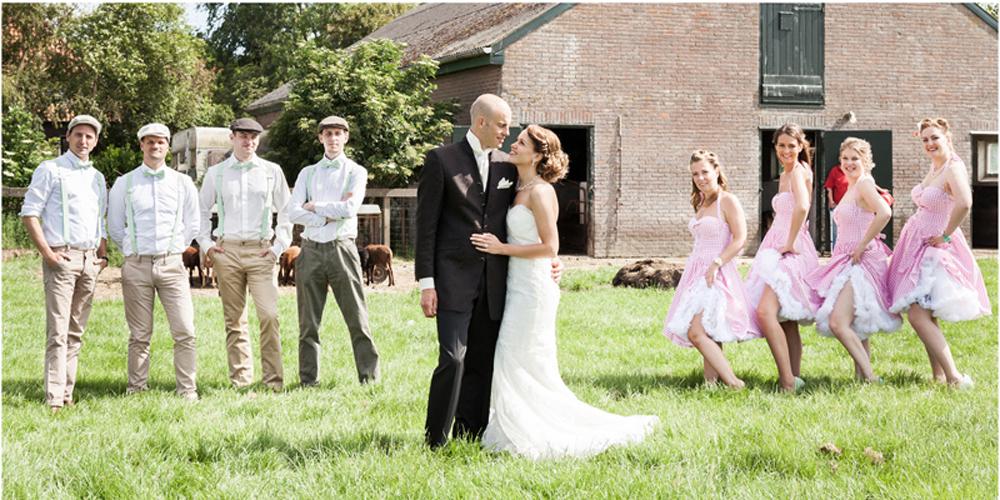 Bruidsfotograaf Noord-Holland los